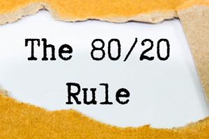 Ken jij de 80-20 regel al?